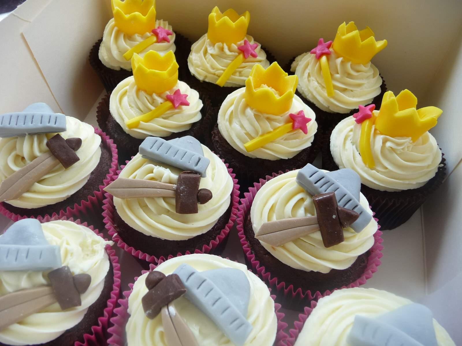 cupcakes princesse chevalier