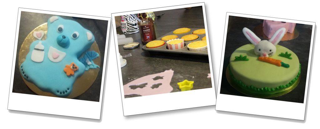 atelier décoration de gâteau babyshower