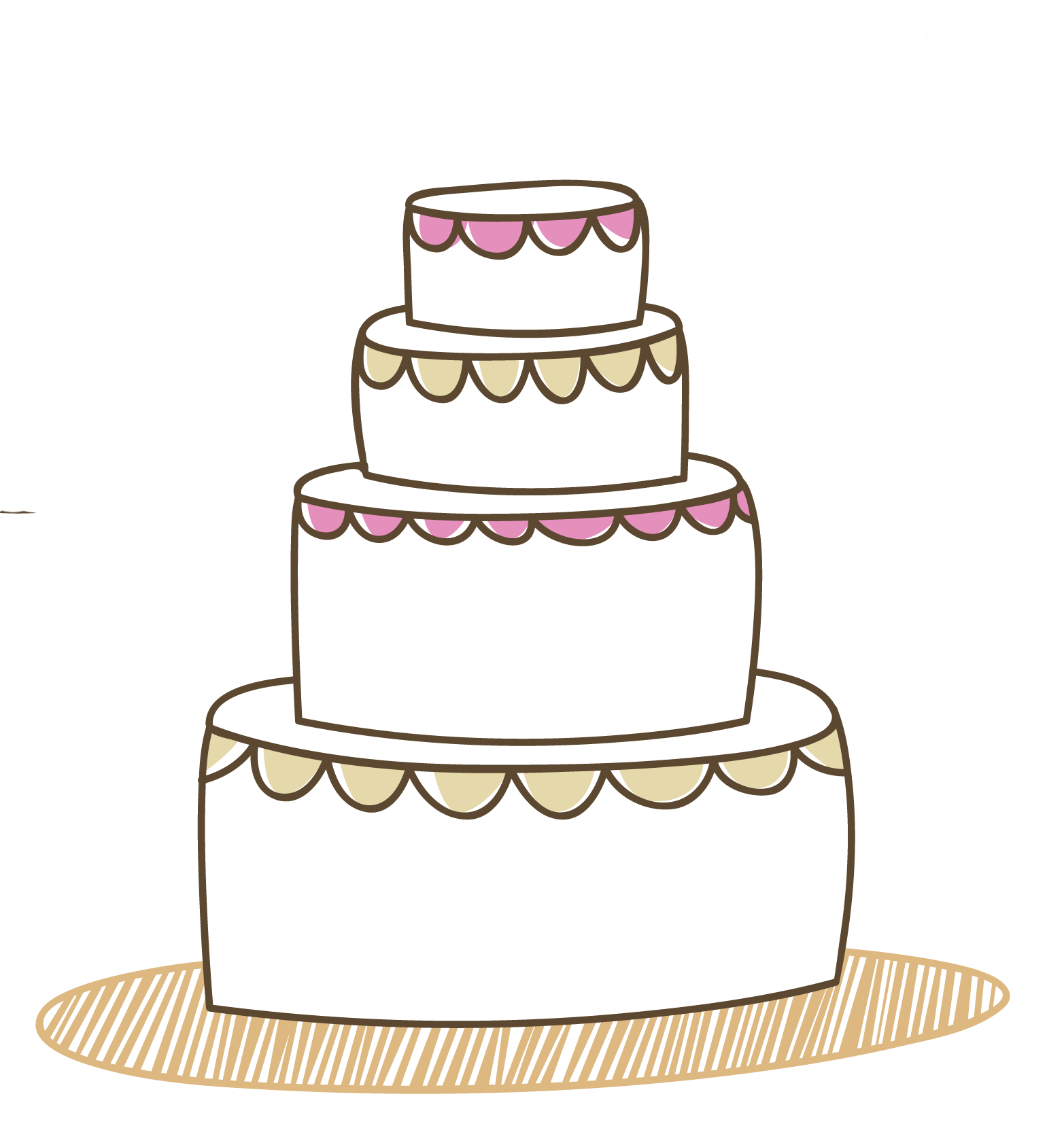 Origin Of Wedding Cake
