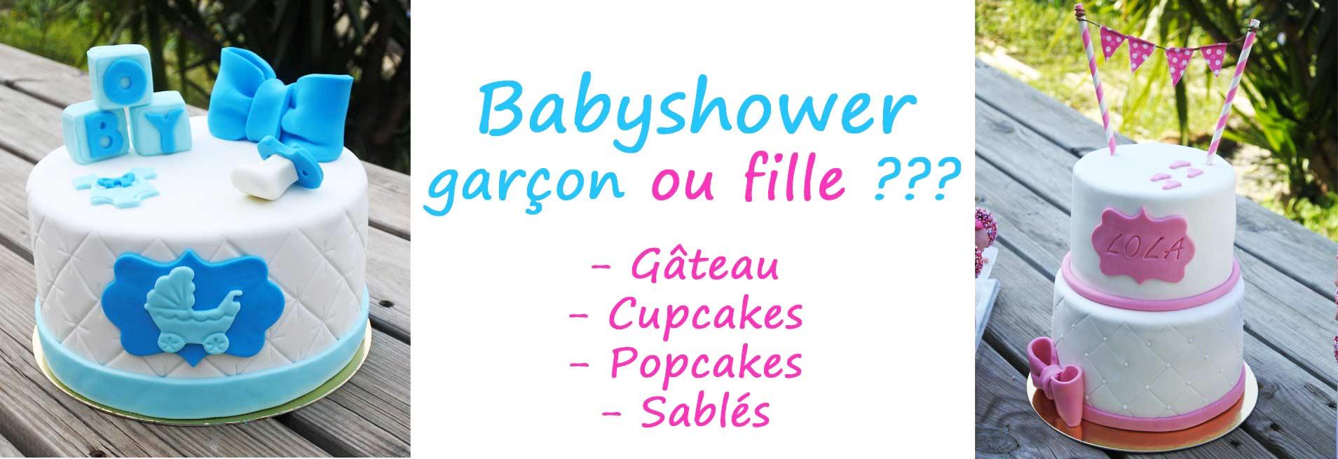 Création gâteau Babyshower Montpellier