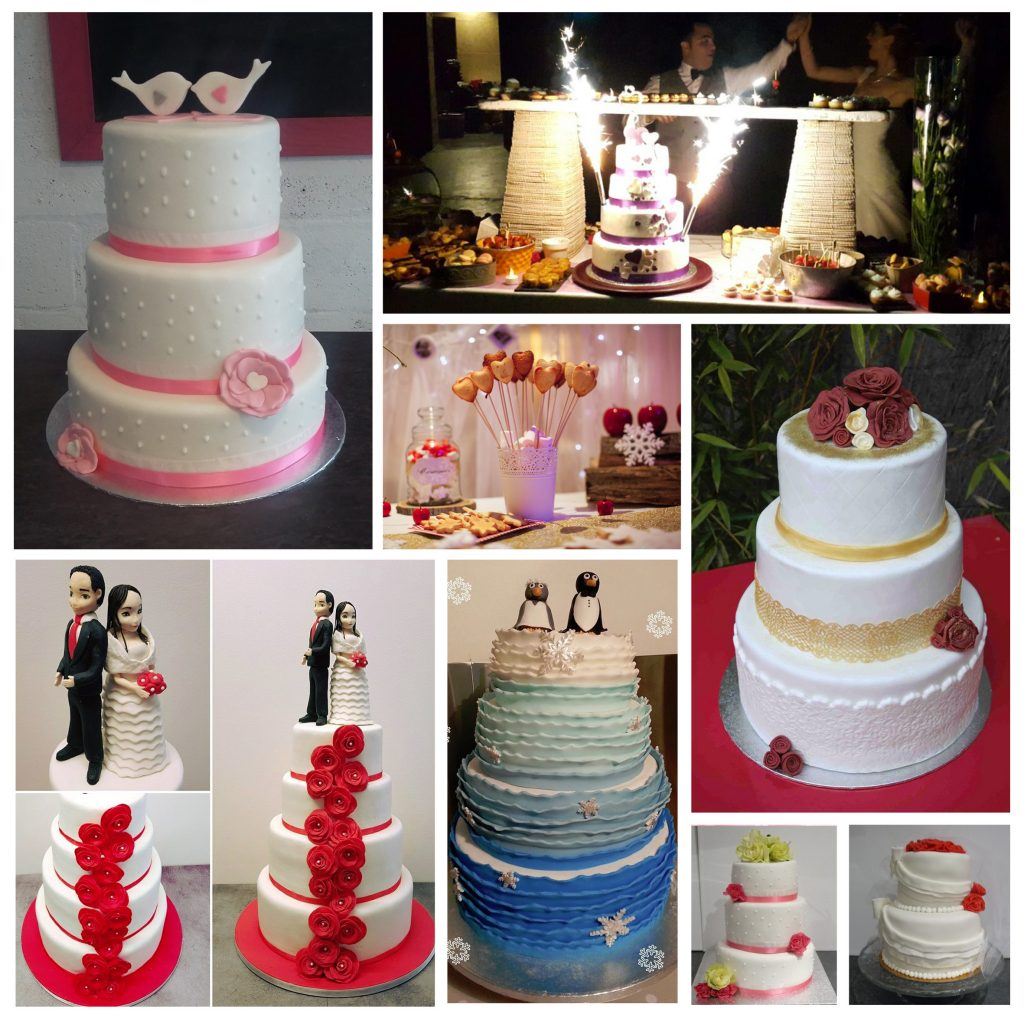 Gâteau de mariage wedding cake Montpellier Perpignan