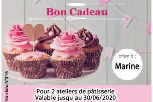 Bon cadeau Vanille ou chocolat Montpellier